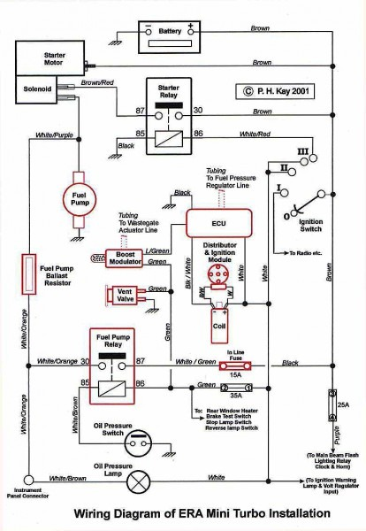 Oil Wiring Diagram