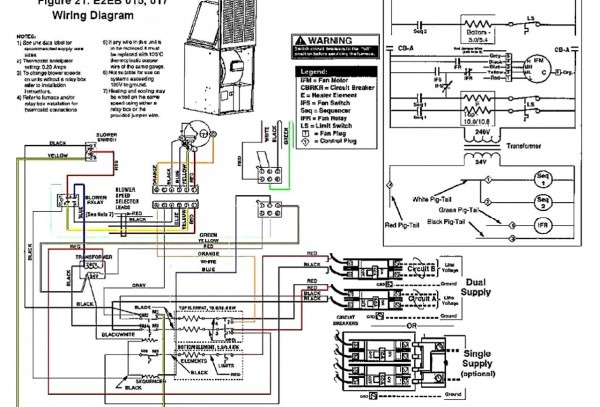 Basic Wiring Diagram For Heil Furnace