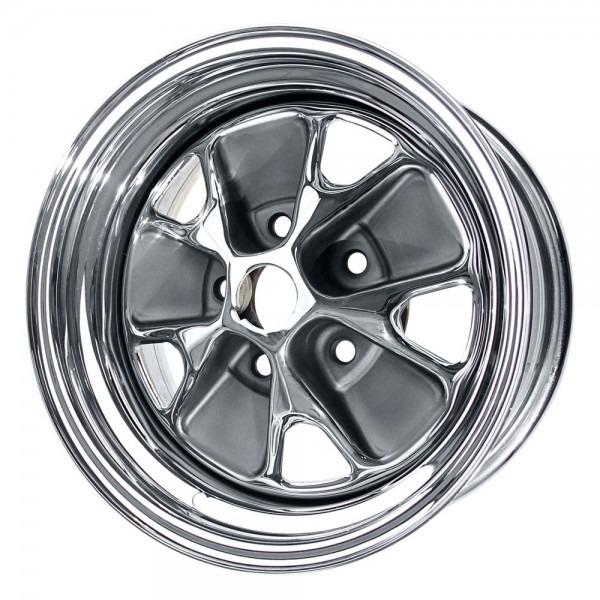 Scott Drake Mustang Styled Steel Wheel 14 X7  1965