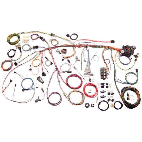 American Autowire 510177 Mustang Complete Wiring Harness Classic