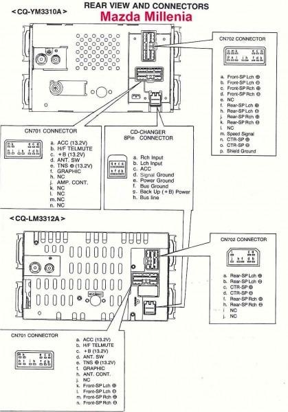 Car Audio Wire Diagram Codes Mazda