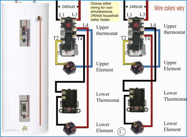 Rheem Electric Water Heater Wiring Diagram