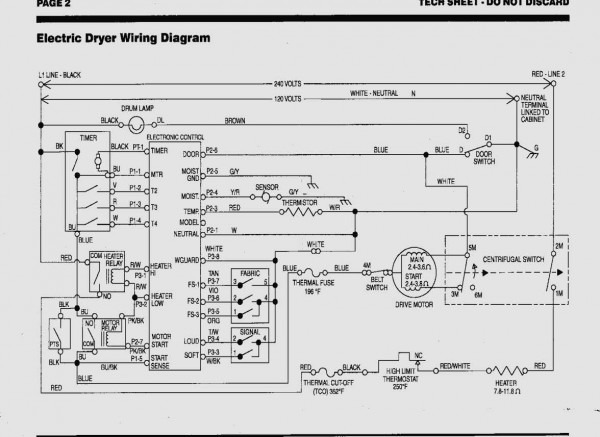 Wiring Diagram For Kenmore Dryer