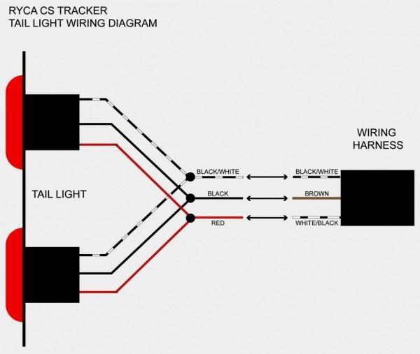 3 Wire Trailer Light Wiring Diagram