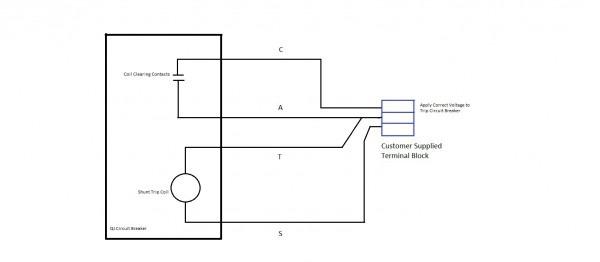 Wiring Diagram Shunt Trip Breaker With Square D Circuit Webtor Me