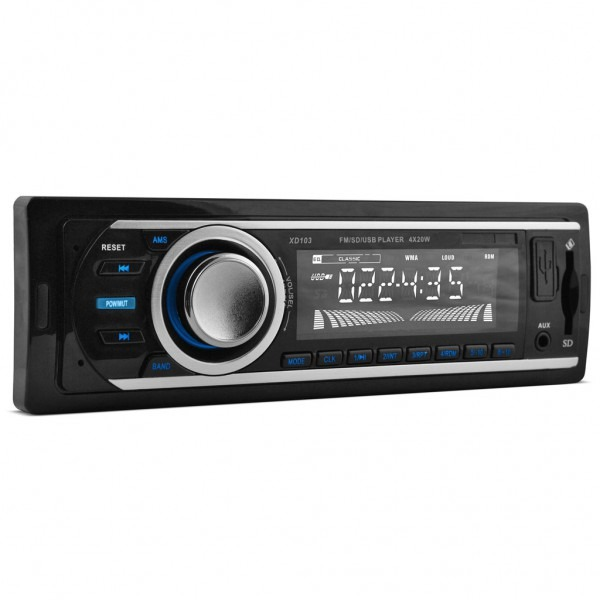Xo Vision Xd103 Fm Radio And Mp3 Stereo Receiver With Usb Port And
