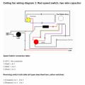 3 Speed Ceiling Fan Wiring With Reversing Switch