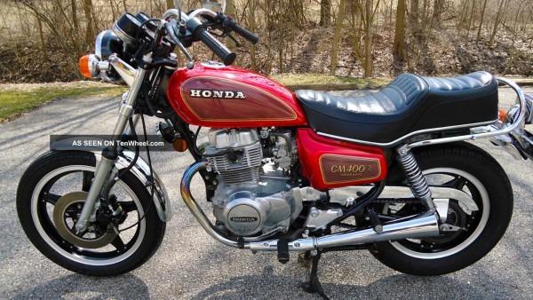 1981 Honda Cb Cl Cm400 Cm 400 Cm400a A Hondamatic Vintage Classic 400a