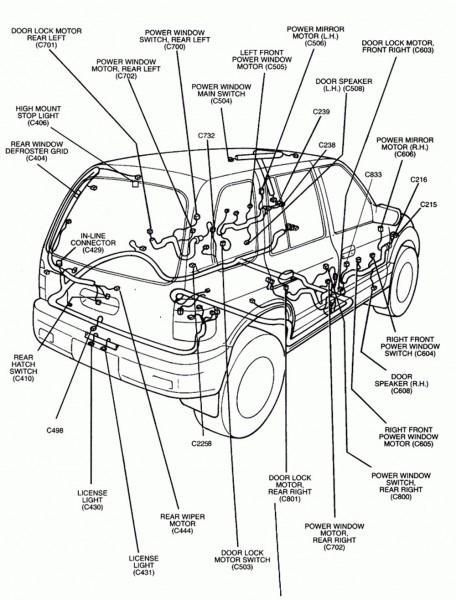 2001 Kia Sportage Engine