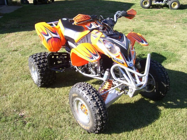 2005 Predator 500 Tld With Extras