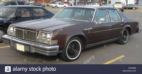 77 79 Buick Lesabre Sedan Stock Photo  78206276