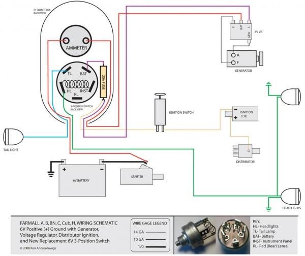 Farmall Md Wiring Diagram