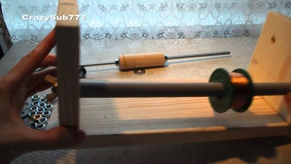 Homemade Voice Coil Machine