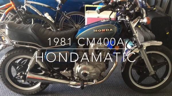 1981 Cm400a Hondamatic