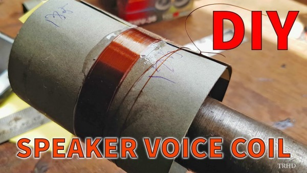 How To Make A Voice Coil In 3 Minutes
