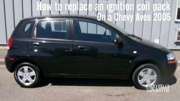 How To Replace An Ignition Coil Pack Chevy Aveo 05