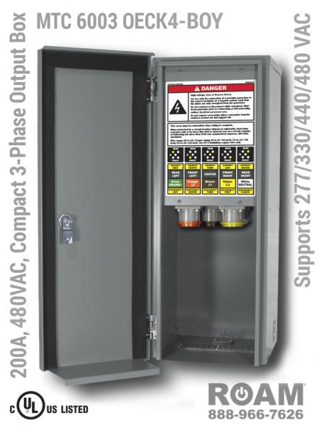 Roam Technologies – Mtc 6003 Oeck Compact Power Output Interface Box