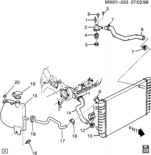 Diagram Of 2002 Buick Lesabre Heater Core 2000 Buick Century