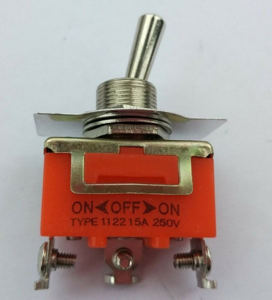 10pcs Sptt On Off On Toggle Switch 1122 Single Pole Triple Throw