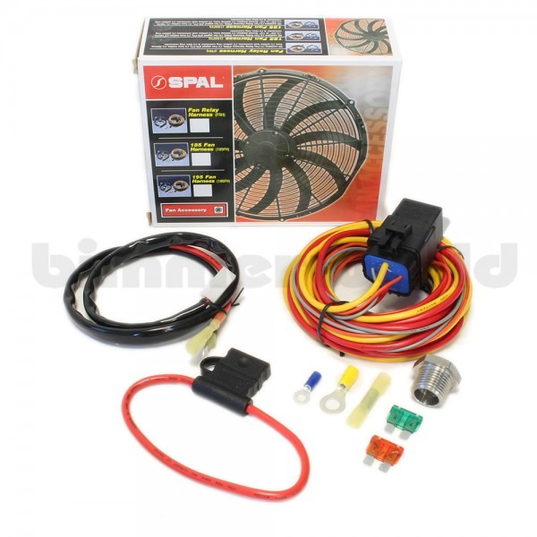 Basic Spal Fan Relay Harness Kit