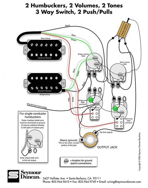 Epiphone Wiring Diagram